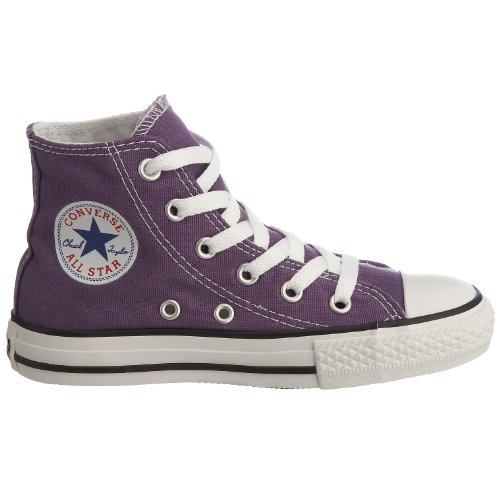 Scarpe Taylor Chuck Laker High Star Top All Viola per Converse bambini Purple Toddler 6p001