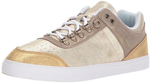 K Gold Sneaker Sleek Gstaad SDE Damen Gold Swiss Champagne PnTF8Prxa