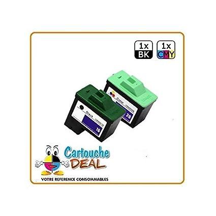 Deal-Juego de 2 cartuchos de tinta LEXMARK LEXMARK 26 16 Genérico ...