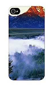 Cute High Quality Iphone 5/5s Foggy Mountain Valley Case Provided By Standinmyside