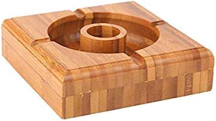 Posacenere in legno/ ideali per fumatori portatile ed ecologici di Home Decor studio /grande Outdoor//Garden//indoor stile marocchino novit/à legno posacenere