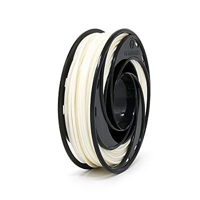Gizmo Dorks PLA Pro Plus 3D Printer Filament 3mm (2.85mm) 200g, Engineering Grade White