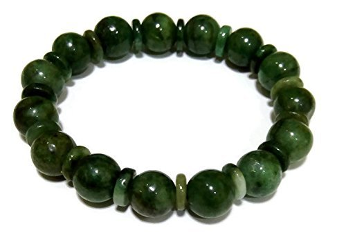 Jewelry Jade Bracelet - Green Myanmar Jade Bracelets for Good Fortune ,Lucky and Wealth.