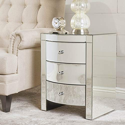 Great Deal Furniture 295467 Cabinet, Clear