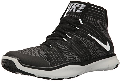 Nike Mens Free Train Virtue Training Shoes Black/White/Dark Grey 898052-001 Size 8 by NIKE