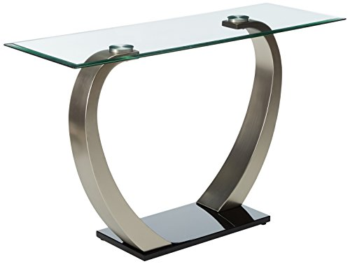 247SHOPATHOME IDF-4728S, Sofa Table, Chrome