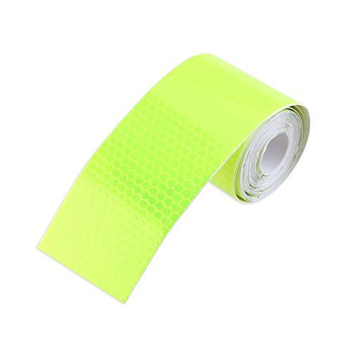 WINOMO Auto Safety Reflective Warning Tape Film for Car Truck MotorBike Bicycle Green