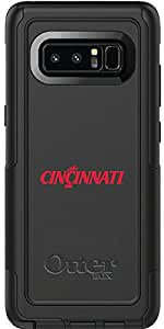 University Of Cincinnati Cincinnati design on Black OtterBox Commuter Series Case for Samsung Galaxy Note 8