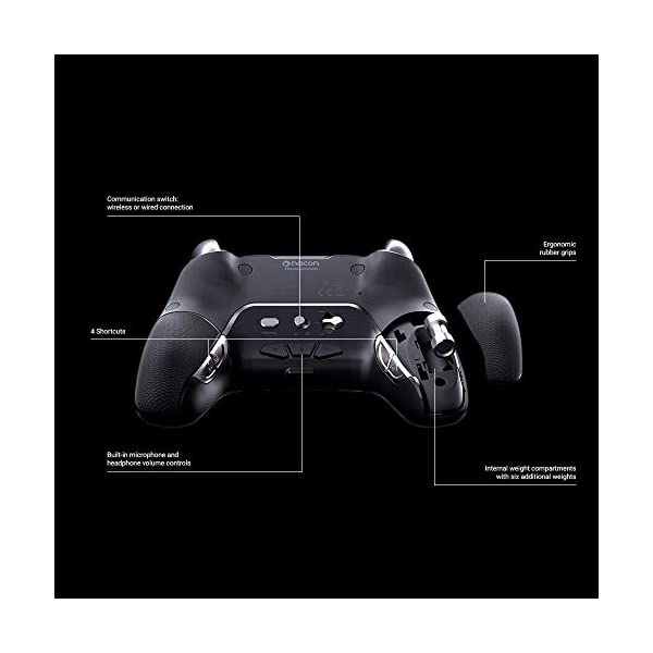 NACON 2 Pack Controller Esports Revolution Unlimited Pro V3 PS4 / PC - Wireless/Wired - Nacon-311608 Team Bundle 5