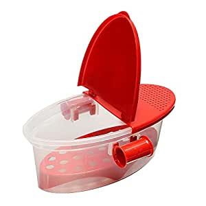 Baoblaze Microwave Pasta Cooker Spaghetti Cooking Boat Vegetable Kitchen Box