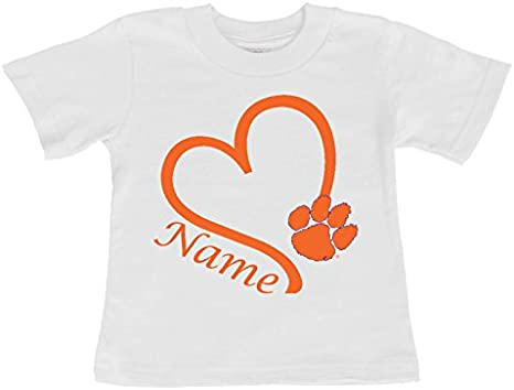Future Tailgater Clemson Tiger Baby//Toddler Minky Lovey