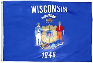 product image for Eder Flag - Wisconsin Flag - Endura-Nylon - 12 Inches by 18 Inches