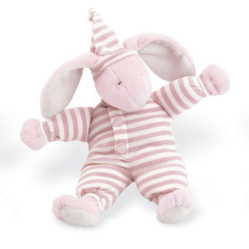 North American Bear Sleepyhead Bunny Rattle, Pink by North American Bear [並行輸入品]   B014U7DL6I