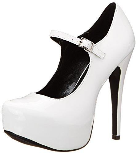 71 Platform Polyurethane White Kissable The Patent Highest wpat Women's Pump Heel nwqw6xBI