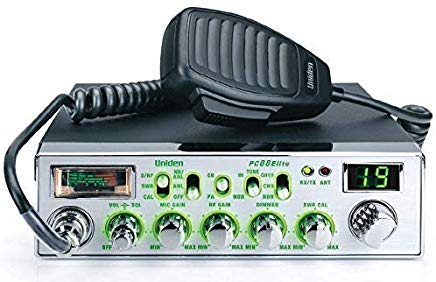 Uniden PC88ELITE - 40-Channel Trucker's CB with Enhanced Night Vision Display, Analog S/RF/SWR/Mod Meter, Instant Channel 9/19, Variable Dimmer Control, AM/PA, 40 Channel