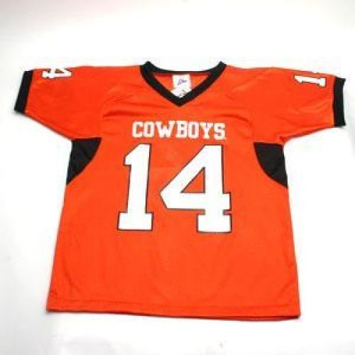 Oklahoma State Cowboys #14 Football Jersey - Men - L