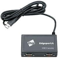 Digi 301-1003-10 Edgeport 2C 2-Port DB-9 Compact USB Converter