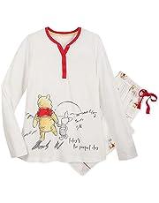 Disney Winnie the Pooh and Piglet Pajama Set for Women