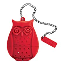 Tovolo Tea Infuser, Owl-Red