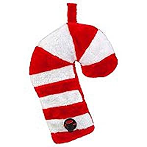Sneaky Fleece Candy Cane Flask - Christmas Holiday Drink Dispenser …