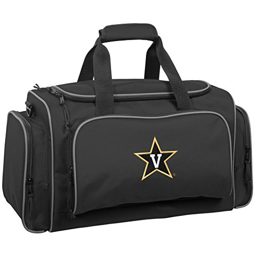 Price comparison product image WallyBags Vanderbilt Commodores 21 Collegiate Duffel, Black Van