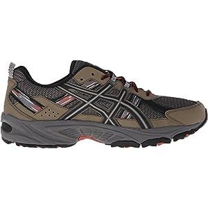 ASICS Men's Gel-Venture 5 Trail Runner, Dusky Green/Black/Cinnamon, 10 M US