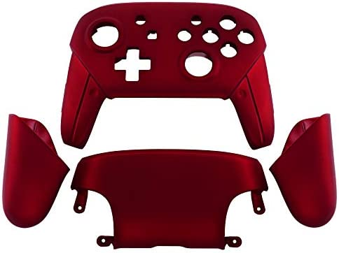 Amazon.com: eXtremeRate Red Faceplate Backplate Handles for ...