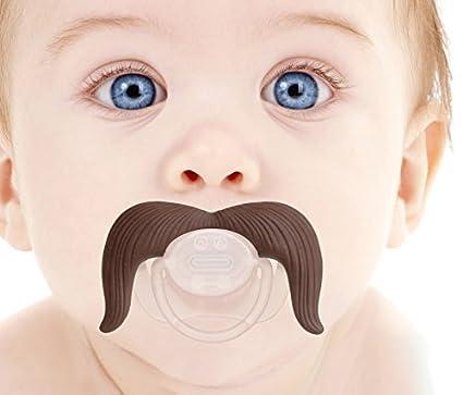 Babypro ?® - Vaquero del bigote de Chupete para el bebé ...