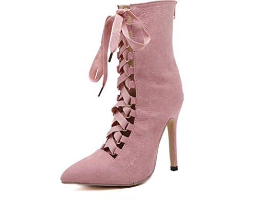 hauts Simple Talons Sangle Mode Chaussures Nouveau Chaussures pink Femmes XDGG Printemps 2017 WzxnTxp8