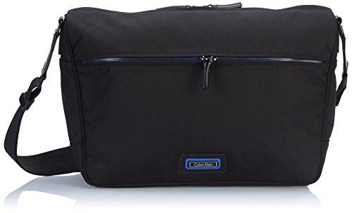 Calvin Klein Jeans Borsa Messenger, nero (Nero) - J5IJ500432