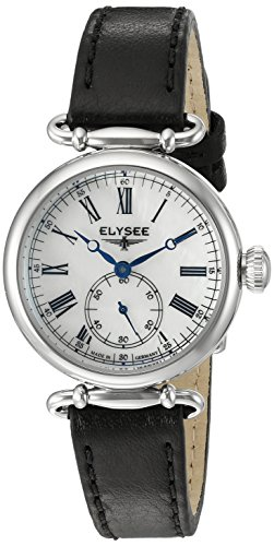 ELYSEE Women's 38022 Ladies-Edition Analog Display Quartz Black Watch