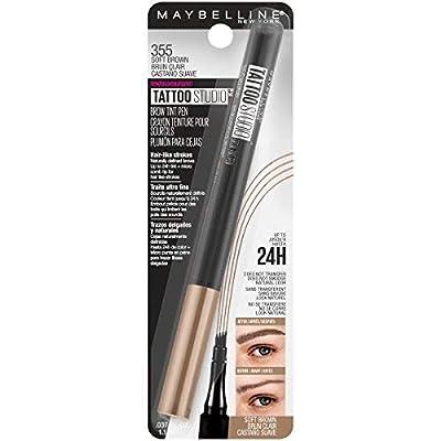 Maybelline TattooStudio Brow Tint Pen Makeup, Soft Brown