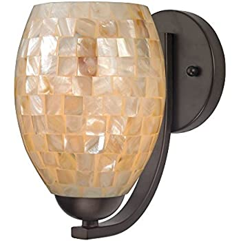 Design Classics Lighting Sconce with Mosaic Glass in