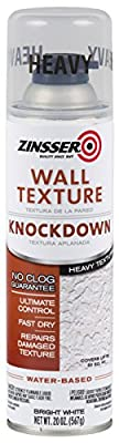 Rust-Oleum 202154 Zinsser Wall Texture 20Oz, Water-Based Knockdown Heavy