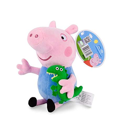 Original Brand Peppa Pig Stuffed Plush Toys 19/30cm Peppa George Pig Family Party Dolls for Girls Gifts Animal Plush - Dolls Monster Wolf High Family