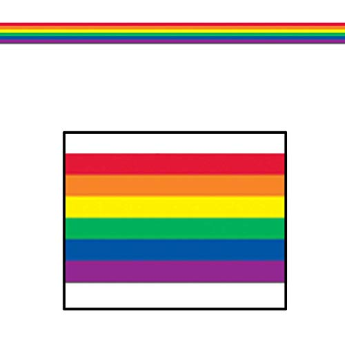Rainbow Poly Decorating Material Party Accessory (1 count) -