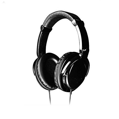 XHKCYOEJ Headset Stereo Headset/Headphones/Headphones/Listener/Computer/Headphones/Network/Song,Black: Amazon.co.uk: Electronics