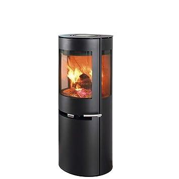 Estufa de leña Aduro 9-5 negro 6 kW horno de leña: Amazon.es ...