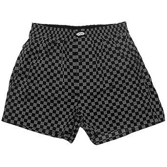 385d7e189fb Vans Checkerboard Print Boxershorts (Black Grey)  Amazon.co.uk  Clothing