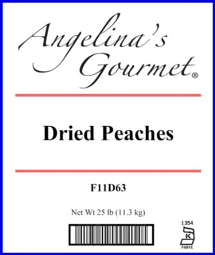 Peaches - 25 Lb Bag / Box by Woodland Ingredients