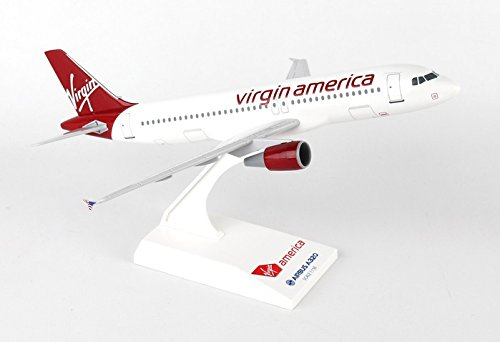 (Daron Skymarks Virgin America A320 1/150 Model Kit)