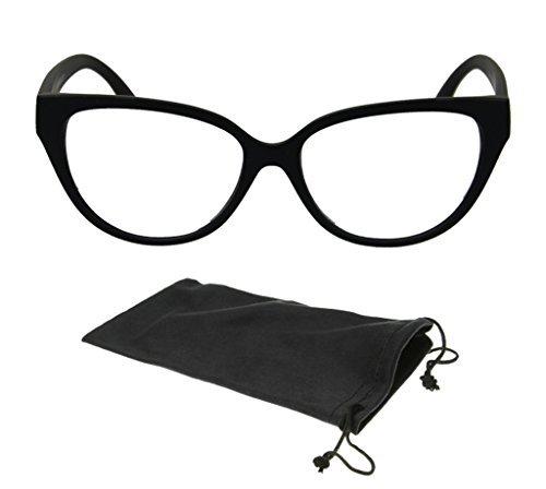 f1c89c776e18 New Black Retro Cat Eye Fashion Wayfarers Designer Reading Glasses Women  Readers +1.25 by CPS
