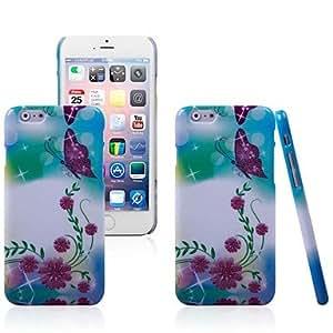 ZXM-Hermosa modelo de flores del fashional de silicona de calidad individualizada duro para el iphone 6