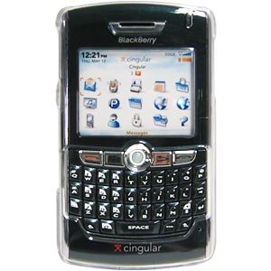 (Clear Snap On Crystal Hard Case For BlackBerry 8820,BlackBerry 8830)