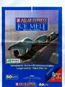 Ice Milazzo Melter (Polar Express Ice Melter Bag Works Effectively Down To -15 Degrees 50 Lbs)