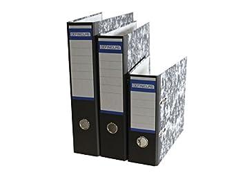 Definiclas 946608 - Archivador jaspeado, 75 mm: Amazon.es: Oficina y papelería