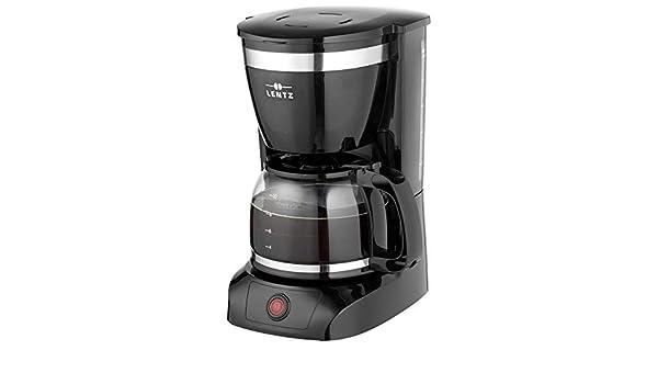 Cafetera de goteo con filtro, color negro: Amazon.es: Hogar
