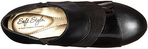 Black Women's Style Soft Lizard Patent Geva by Dress Puppies Hush Pump Vitello Pn8OwIqU5x