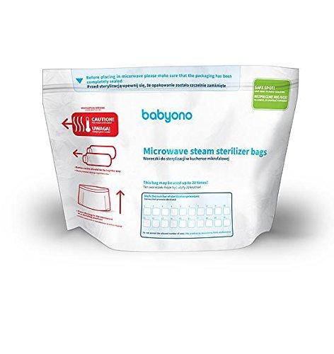 BabyOno Microwave Sterilization Bags Supreme Baby Limited BA0237
