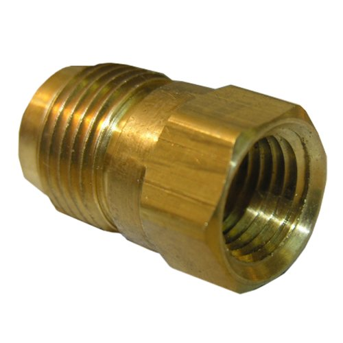 - LASCO 17-4627 3/8-Inch Flare by 1/8-Inch Female Pipe Thread Brass Adapter